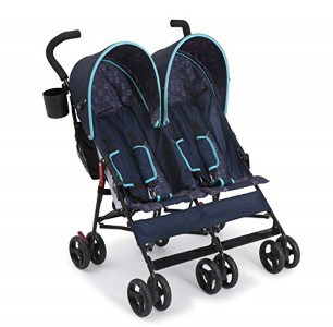 Delta Side by Side Double Umbrella Stroller