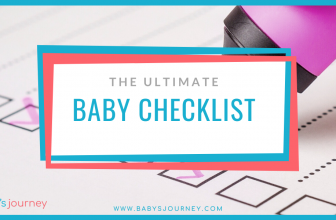 Ultimate Baby Checklist – 75+ Essential Baby Items